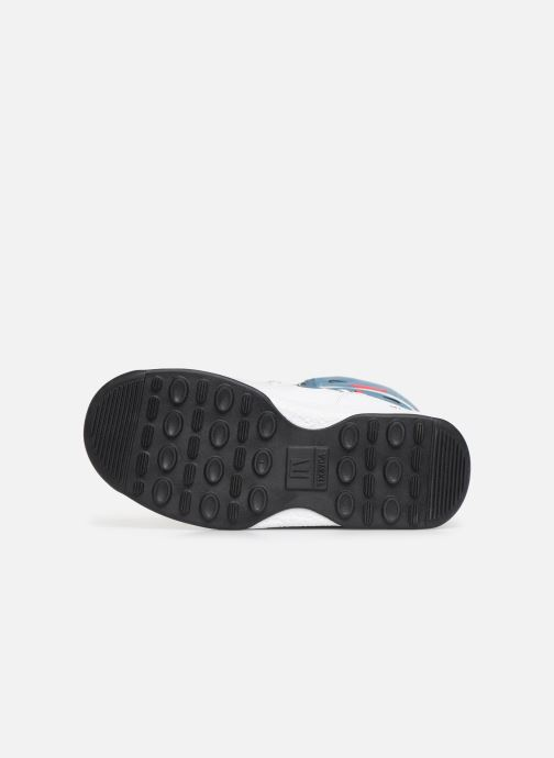 Chaussures de sport Moon Boot Moon Boot JR G.Q. Flamingo WP Vert vue haut