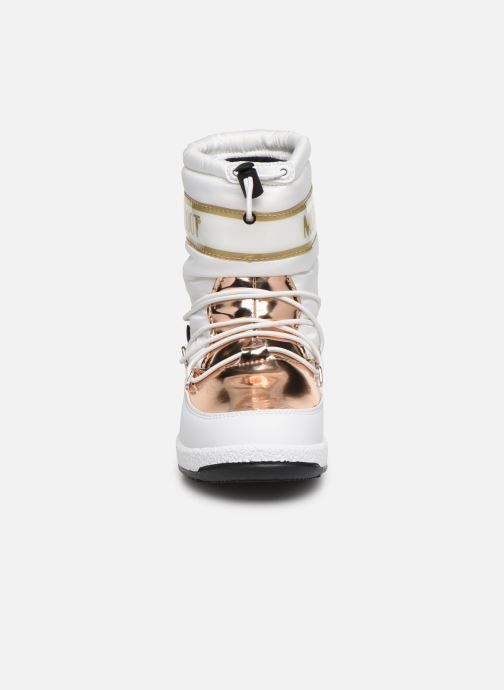 Chaussures de sport Moon Boot Moon Boot JR Girl Soft WP Blanc vue portées chaussures