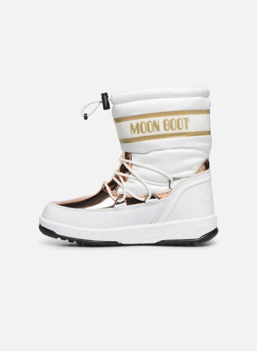 Chaussures de sport Moon Boot Moon Boot JR Girl Soft WP Blanc vue face
