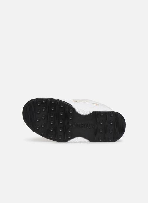 Chaussures de sport Moon Boot Moon Boot JR Girl Soft WP Blanc vue haut