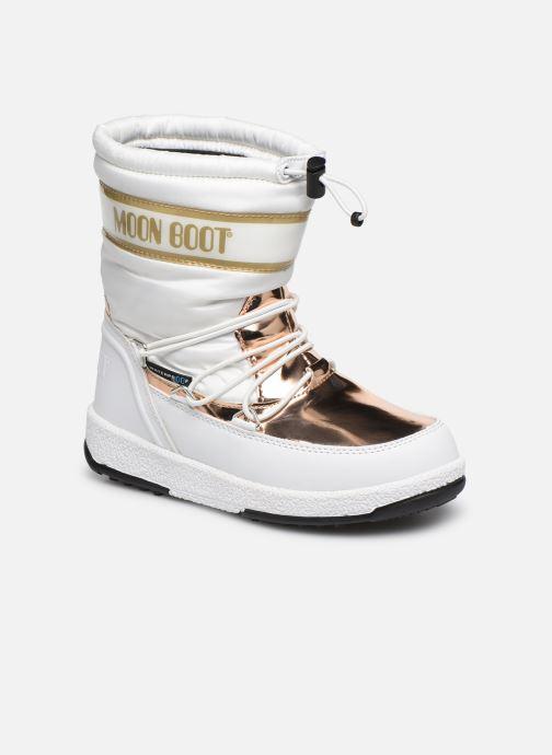 Chaussures de sport Moon Boot Moon Boot JR Girl Soft WP Blanc vue détail/paire