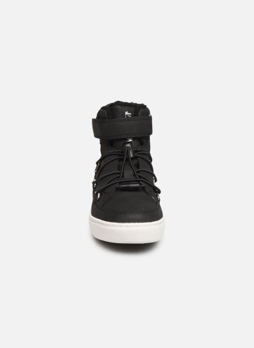 Chaussures de sport Moon Boot Moon Boot Pulse JR Boy Paris Noir vue portées chaussures