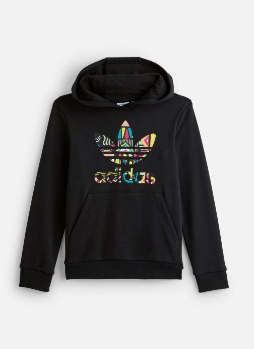 Vêtements adidas originals Hoodie J Noir vue détail/paire