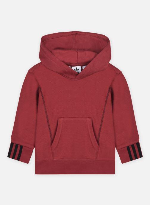 Vêtements adidas originals Hoodie J Bordeaux vue détail/paire
