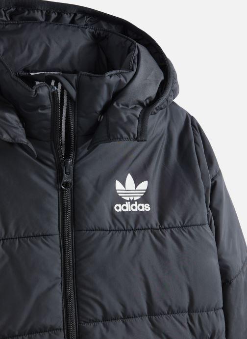 Vêtements adidas originals Jacket J Noir vue portées chaussures