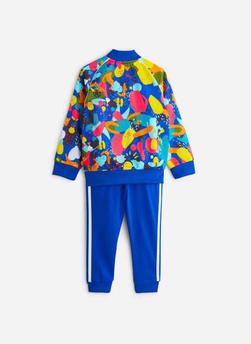 Vêtements adidas originals Superstar Set K Bleu vue bas / vue portée sac