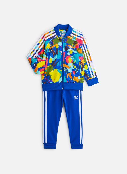 Vêtements adidas originals Superstar Set K Bleu vue détail/paire