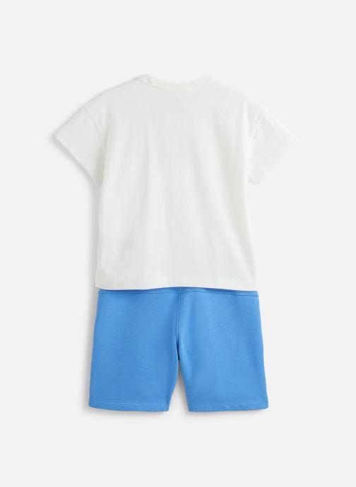 Vêtements adidas originals V-Cocal Short K Blanc vue bas / vue portée sac