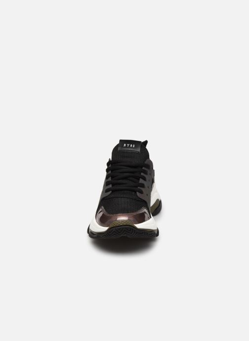Baskets Steve Madden AJAX Noir vue portées chaussures