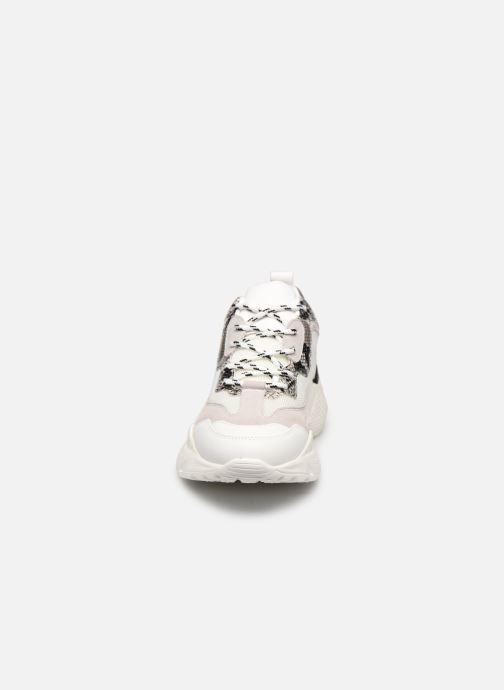 Baskets Steve Madden ANTONIA Blanc vue portées chaussures
