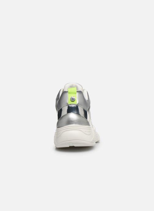 Sneaker Steve Madden ANTONIA silber ansicht von rechts