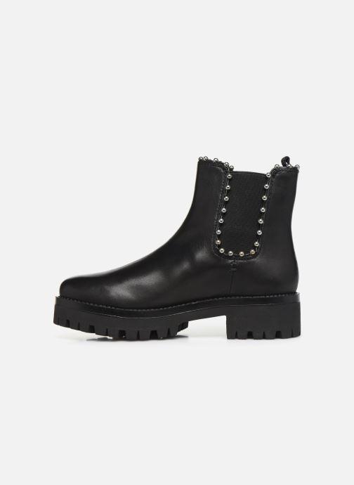 Boots en enkellaarsjes Steve Madden AIKEN Zwart voorkant
