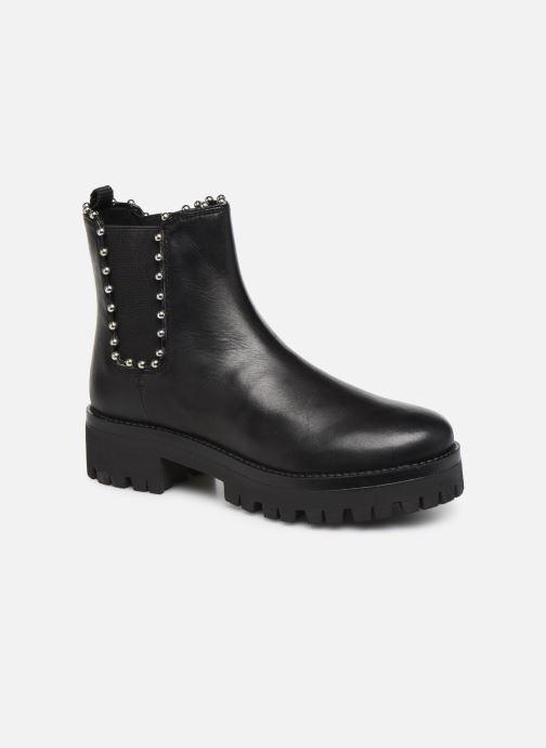 Boots en enkellaarsjes Steve Madden AIKEN Zwart detail