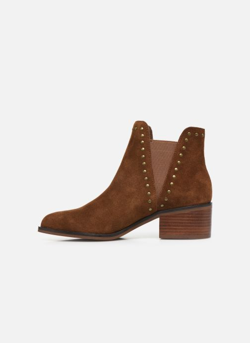Bottines et boots Steve Madden CADE Marron vue face