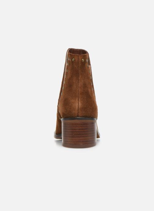 Boots en enkellaarsjes Steve Madden CADE Bruin rechts