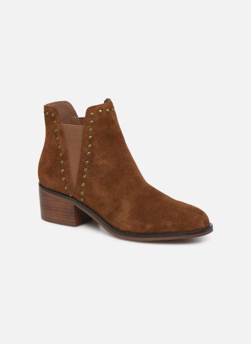 Boots en enkellaarsjes Steve Madden CADE Bruin detail