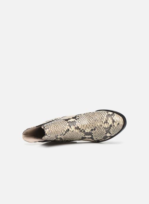 Boots en enkellaarsjes Steve Madden CADE Grijs links