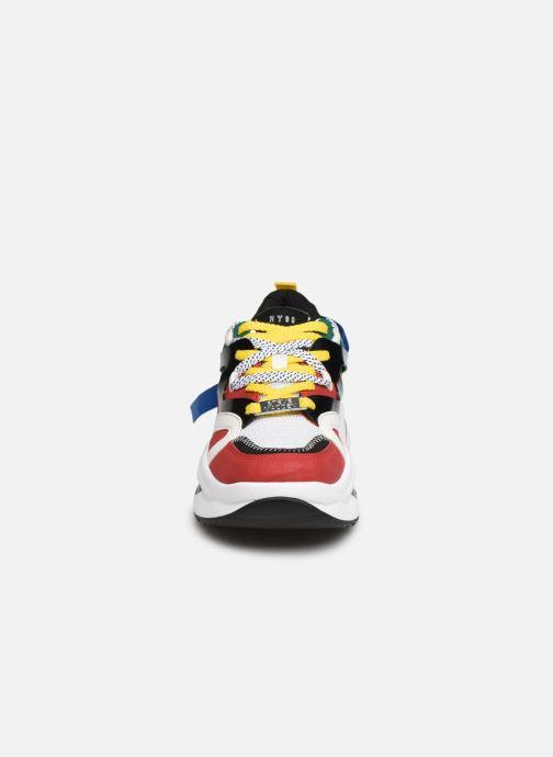 Baskets Steve Madden FAY Multicolore vue portées chaussures