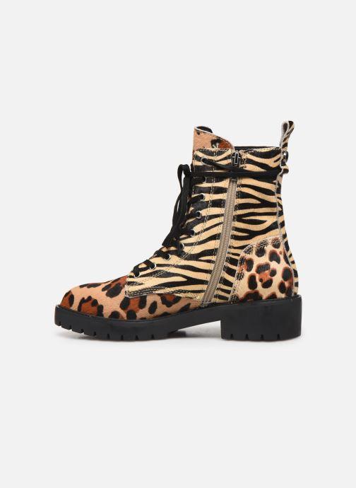 Bottines et boots Steve Madden GRID Multicolore vue face
