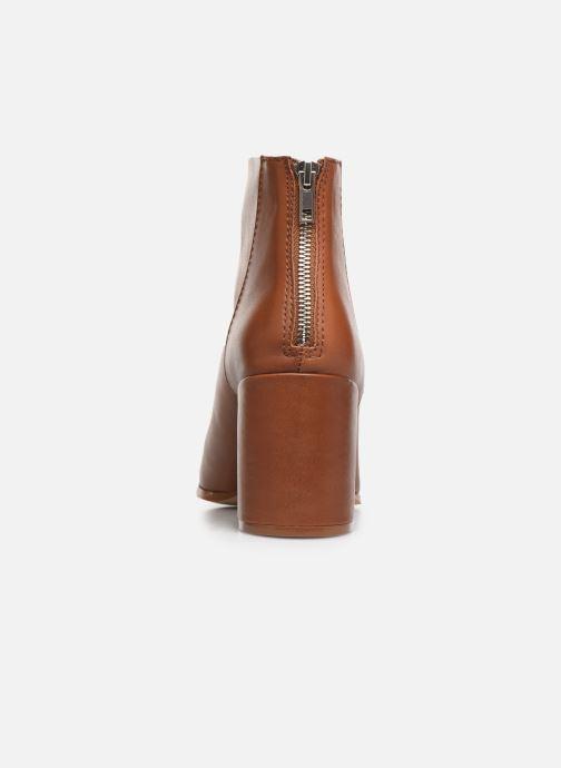 Bottines et boots Steve Madden JILLIAN Marron vue droite