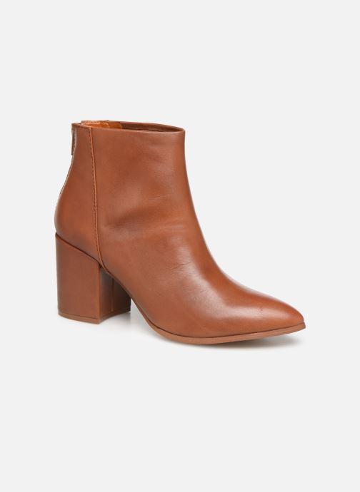 Bottines et boots Steve Madden JILLIAN Marron vue détail/paire