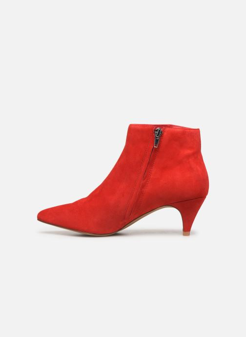Bottines et boots Steve Madden LUCINDA Rouge vue face