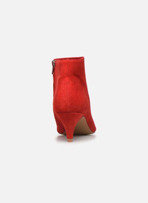 Bottines et boots Steve Madden LUCINDA Rouge vue droite