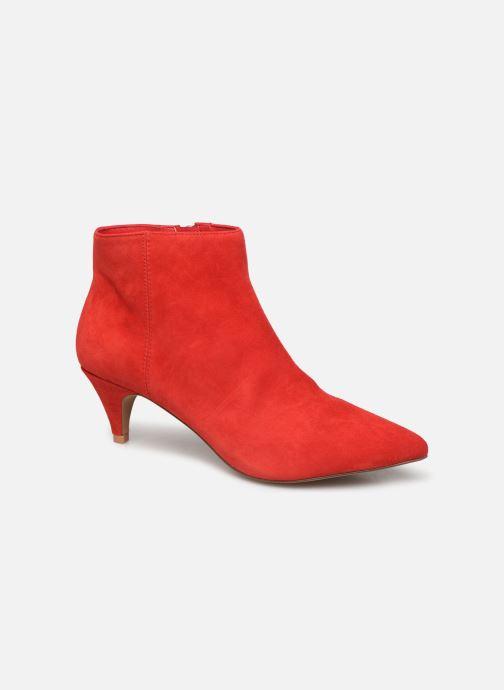 Bottines et boots Steve Madden LUCINDA Rouge vue détail/paire