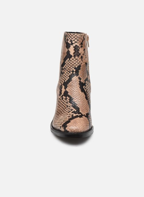 Bottines et boots Steve Madden TENLEY Beige vue portées chaussures