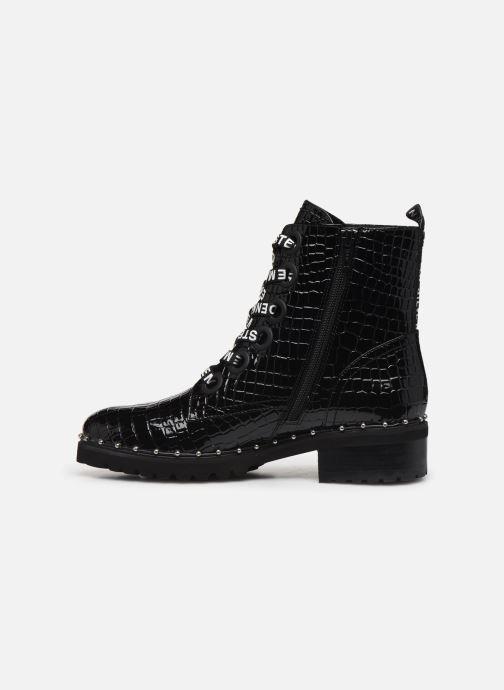 Bottines et boots Steve Madden TESS Noir vue face