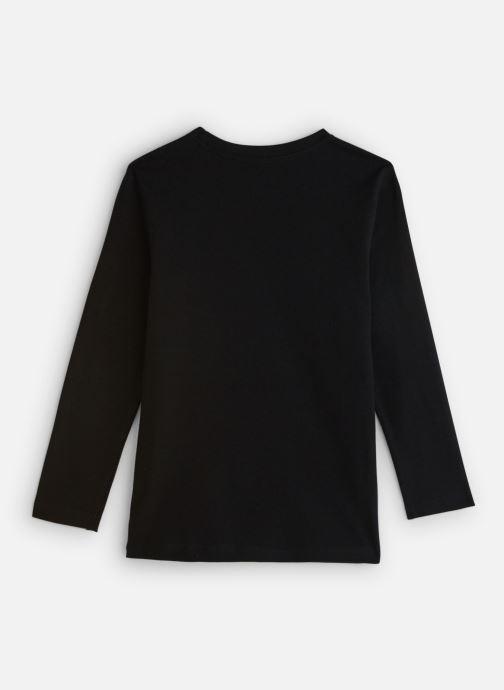 Vêtements Element Vertical Ls Boy Noir vue bas / vue portée sac