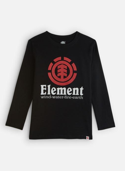 Vêtements Element Vertical Ls Boy Noir vue détail/paire