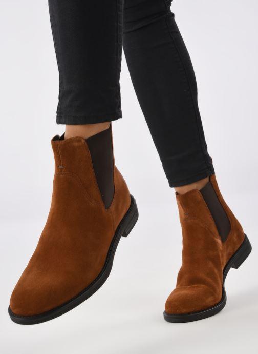 Bottines et boots Vagabond Shoemakers AMINA 4203-840-10 Marron vue bas / vue portée sac