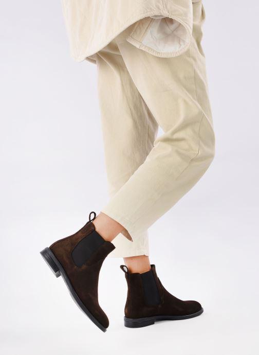 Bottines et boots Vagabond Shoemakers AMINA 4203-840-31 Marron vue bas / vue portée sac