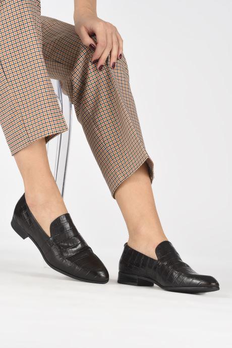 Mocassins Vagabond Shoemakers FRANCES 4606-208 Marron vue bas / vue portée sac