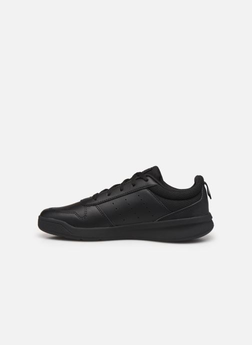 Baskets adidas performance Tensaur K Noir vue face