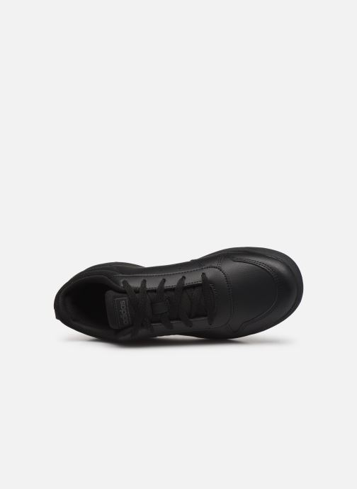 Trainers adidas performance Tensaurus J Black view from the left