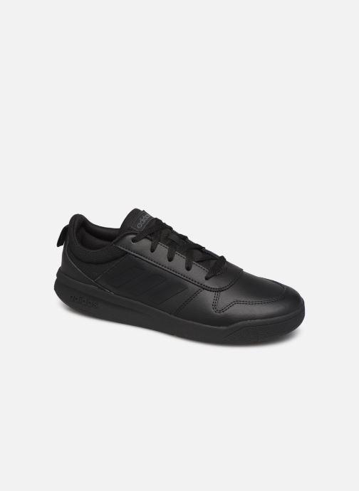 Sneakers adidas performance Tensaur K Sort detaljeret billede af skoene