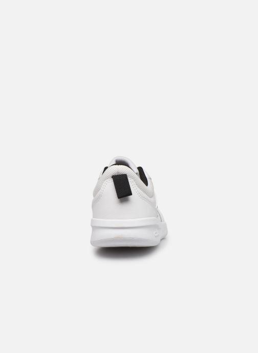 Baskets adidas performance Tensaur K Blanc vue droite