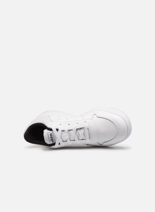 Baskets adidas performance Tensaurus J Blanc vue gauche