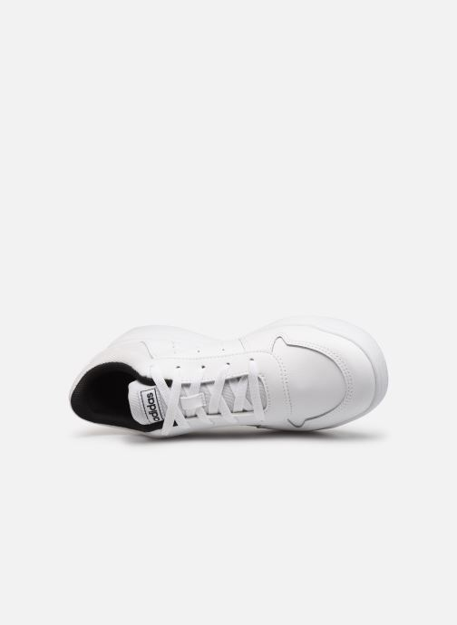 Trainers adidas performance Tensaur K White view from the left