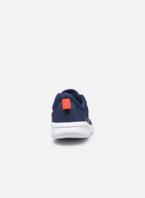 Baskets adidas performance Tensaur K Bleu vue droite