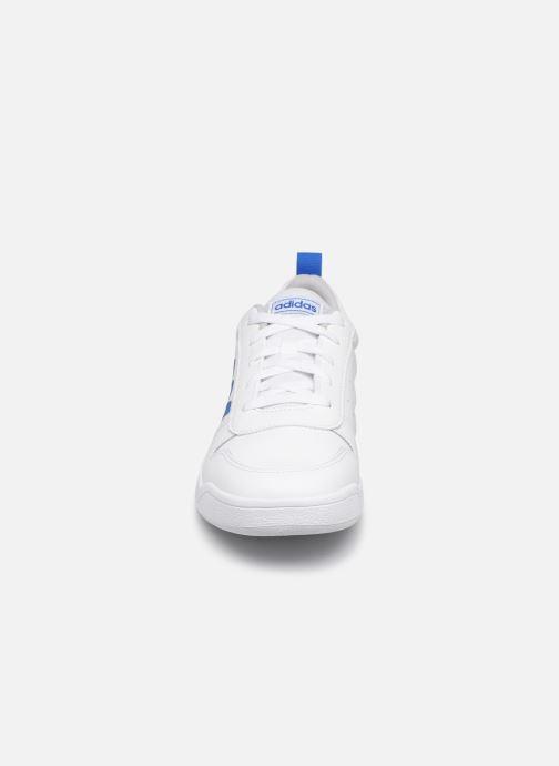 adidas performance Tensaur K (Blanc) Baskets chez Sarenza