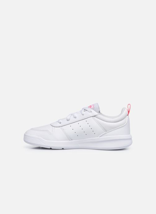 Sneakers adidas performance Tensaur K Bianco immagine frontale