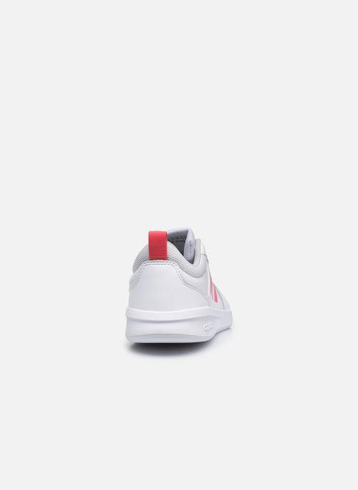 Sneakers adidas performance Tensaur K Bianco immagine destra