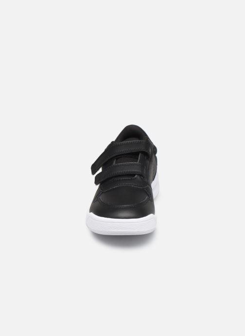 Sneaker adidas performance Tensaur C schwarz schuhe getragen