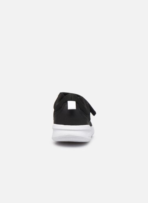 Baskets adidas performance Tensaur K Noir vue droite