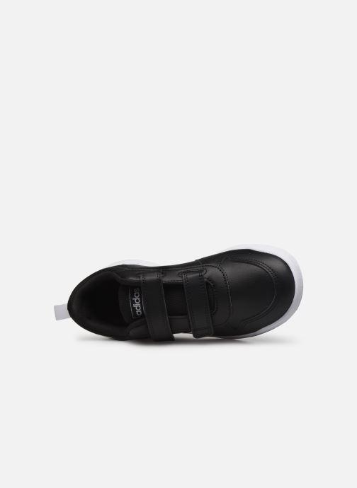 Sneaker adidas performance Tensaur C schwarz ansicht von links