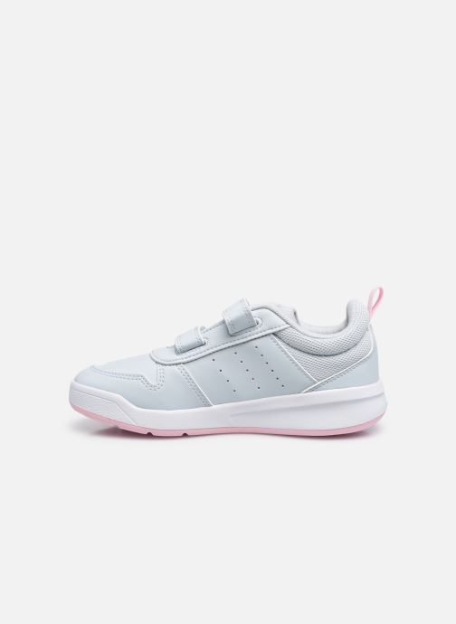 Baskets adidas performance Tensaur K Blanc vue face