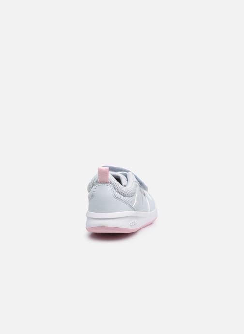 Baskets adidas performance Tensaur C Blanc vue droite